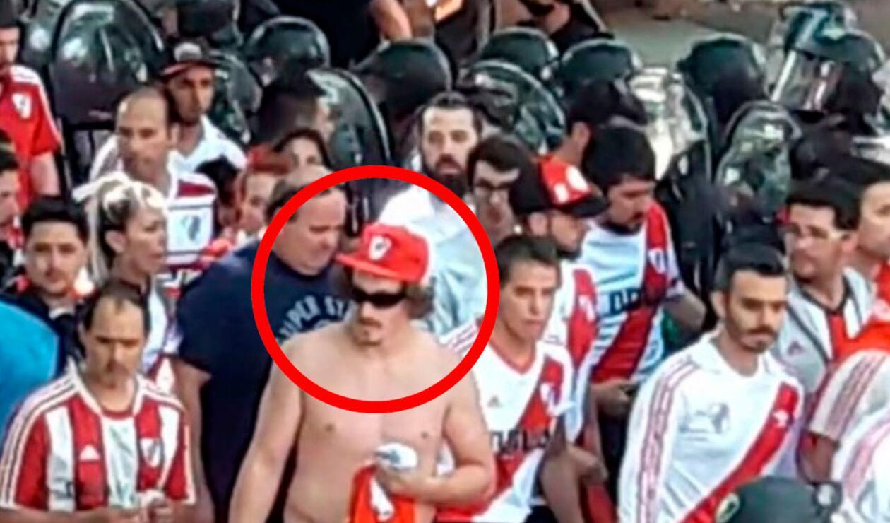 El hincha de River Plate, Matías Firpo, acusado de lanzar la piedra contra el bus de Boca