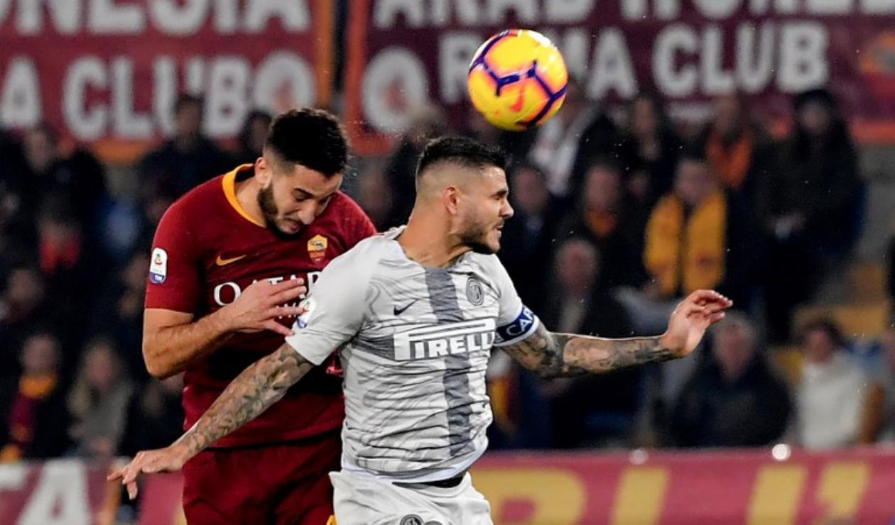 Roma Vs. Inter de Milan