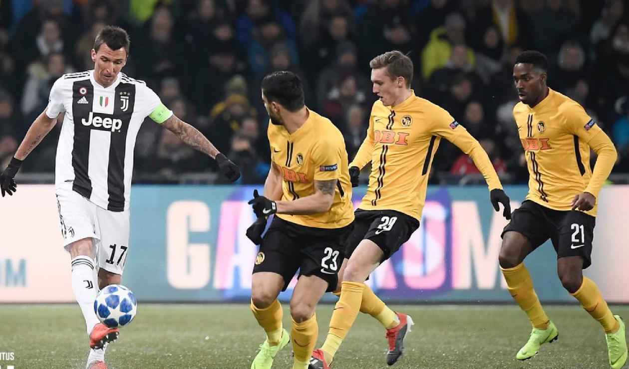 Young Boys Vs. Juventus