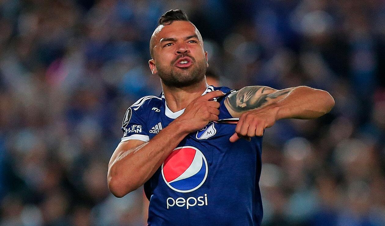 Andrés Cadavid se encuentra en los planes del técnico Jorge Luis Pinto para el Millonarios 2019