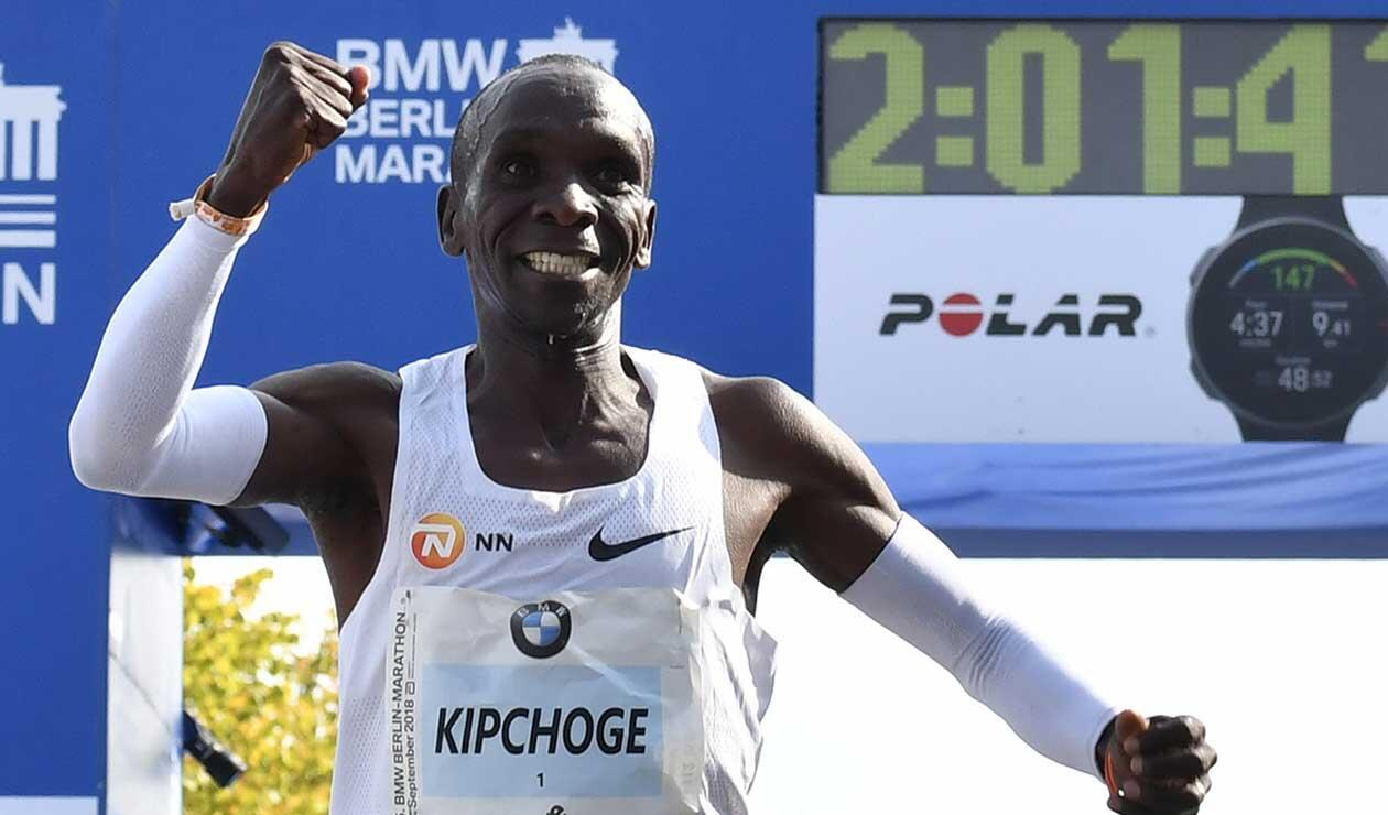 Eliud Kipchoge, atleta africano