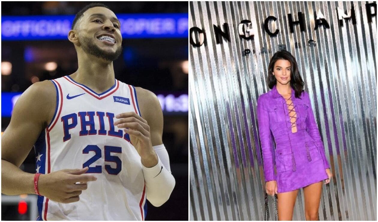 Ben Simmons y su novia serían culpables de la racha de los Sixers