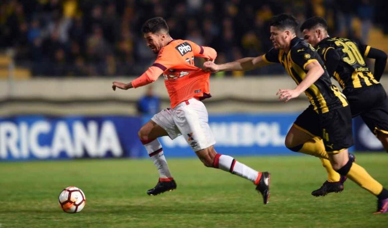 Peñarol vs Atlético Paranaense, Copa Sudamericana