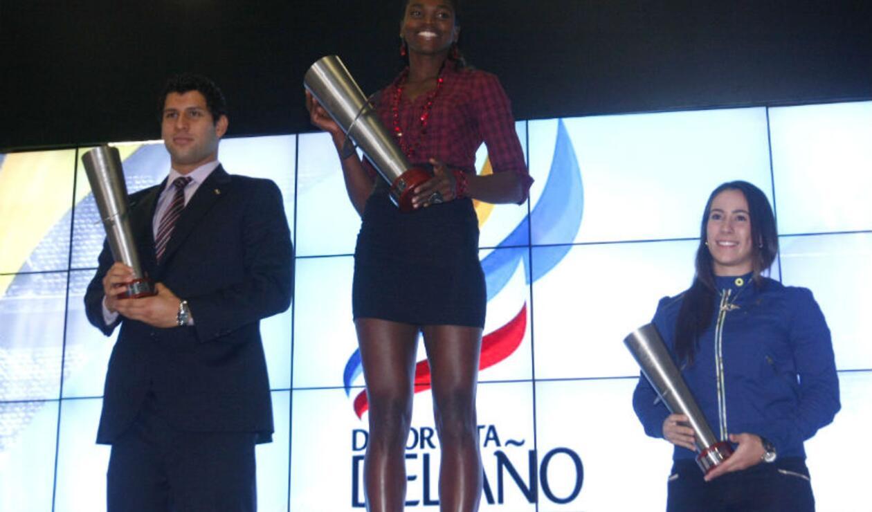 Caterine Ibargüen deportista del año 2011