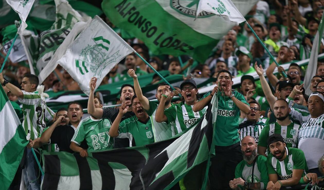 Afición de Atlético Nacional
