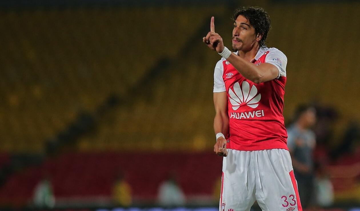 Facundo Guichón, jugador de Santa Fe