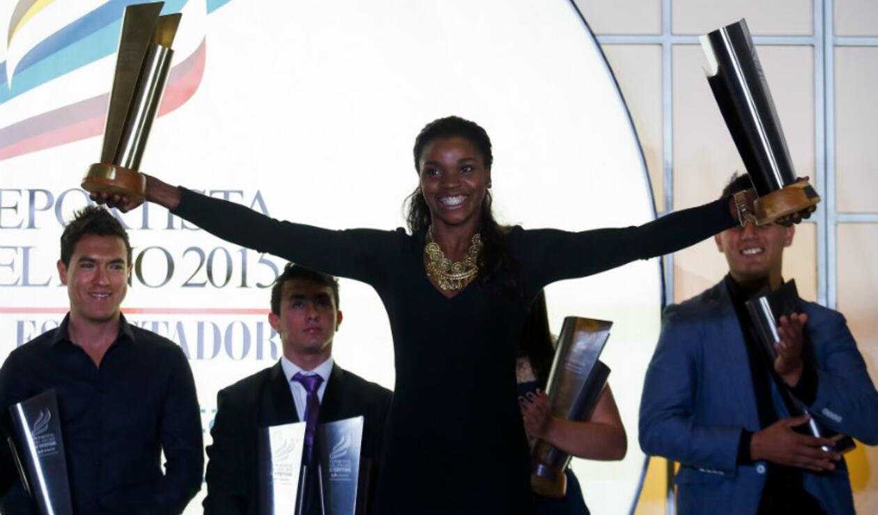 Caterine Ibargüen deportista del año en 2015