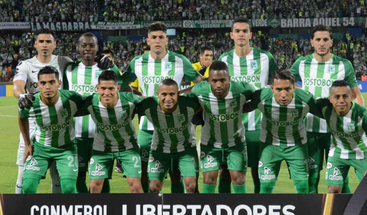 Equipo formado de Atlético Nacional