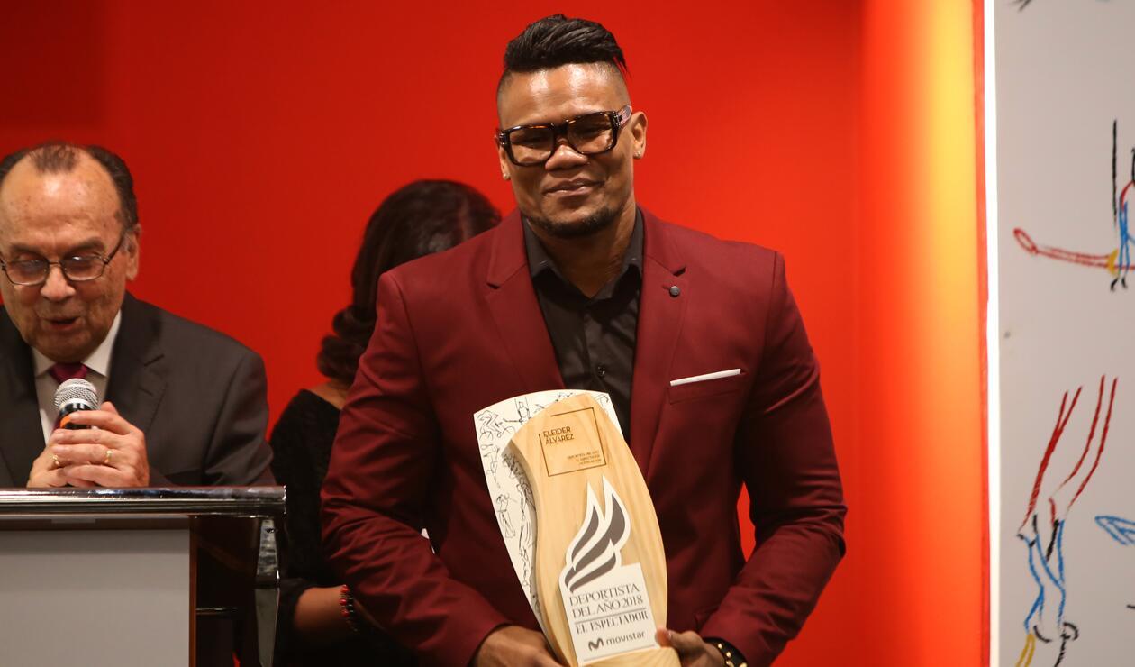 Eleider Álvarez mejor deportista del 2018