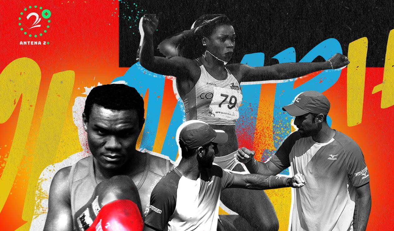 Caterine Ibargüen, Juan Sebastián Cabal, Rober Farah y Eléider Álvarez, los mejores deportivos colombianos de 2018