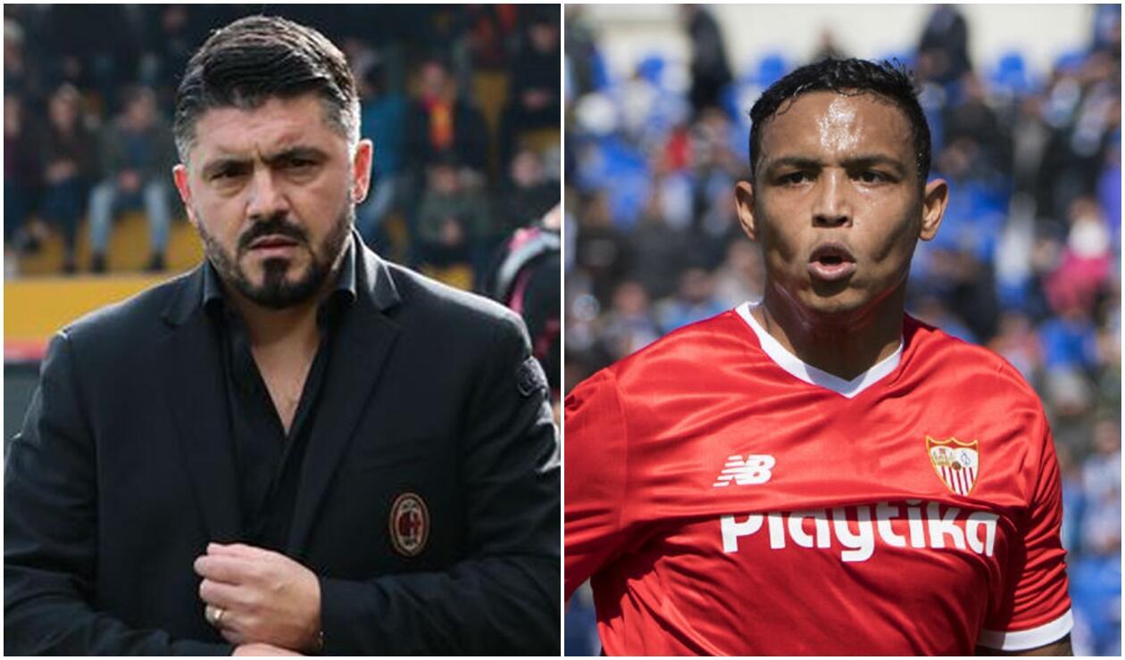 Gattuso habló de fichar a Muriel en el Milan