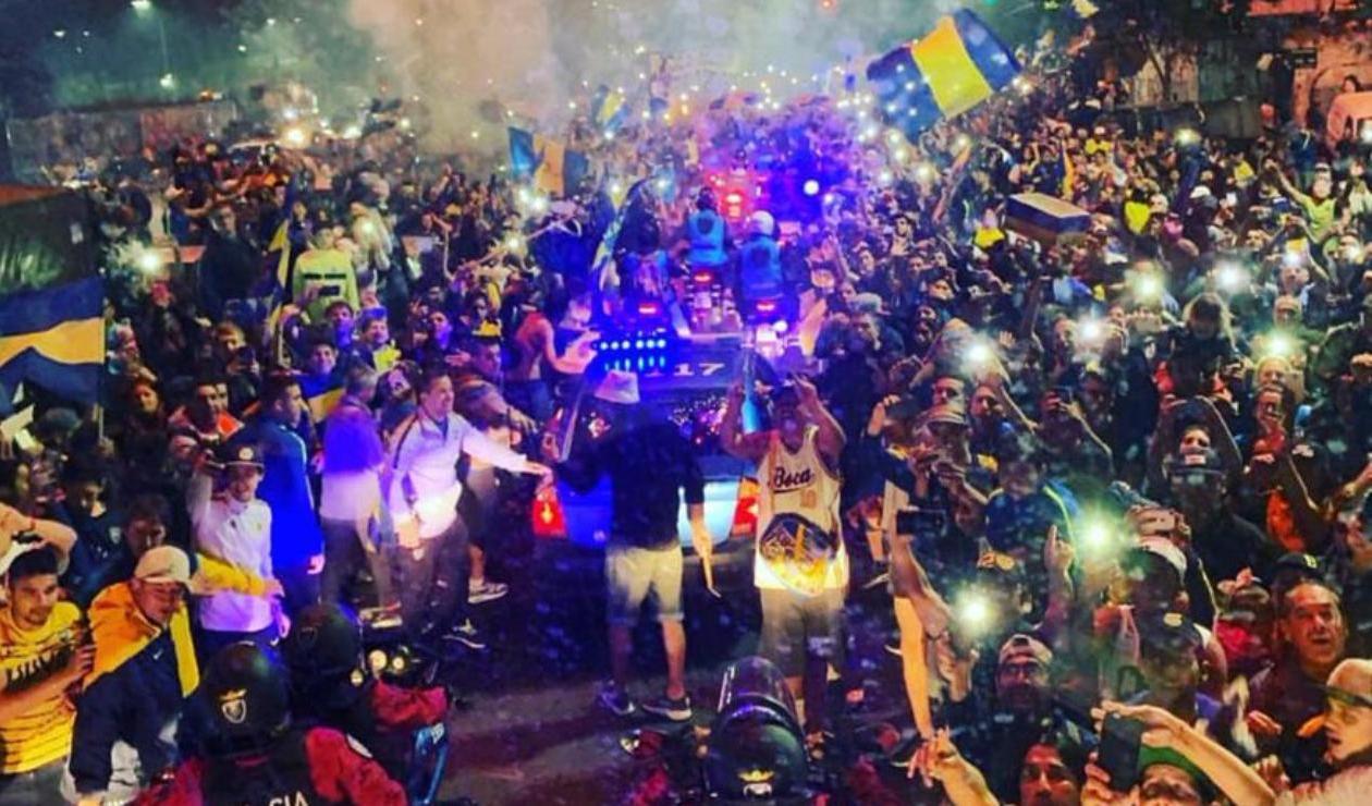 hinchas Boca Juniors