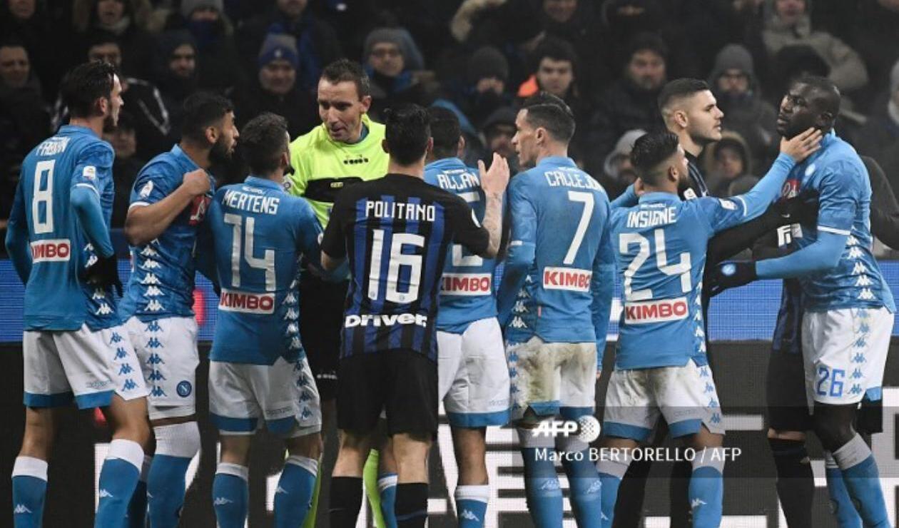 Inter Vs. Napoli