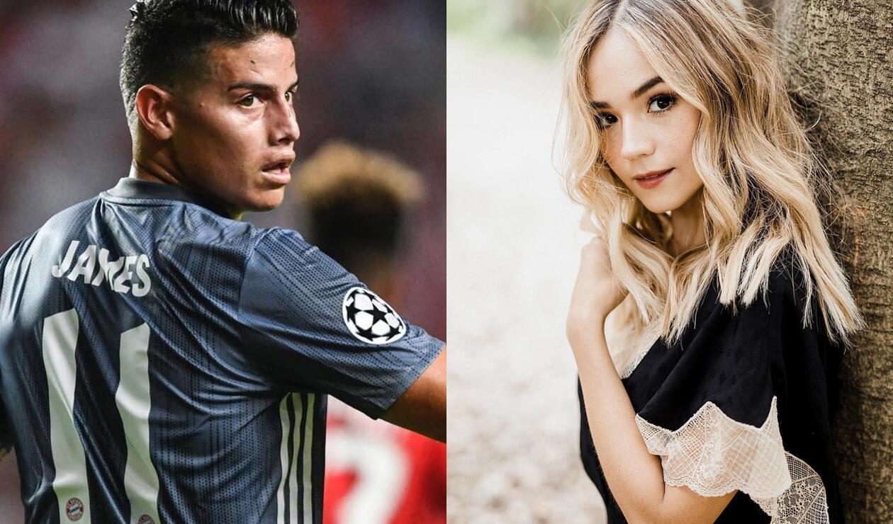 James Rodríguez y Tuti Vargas, ¿de romance?