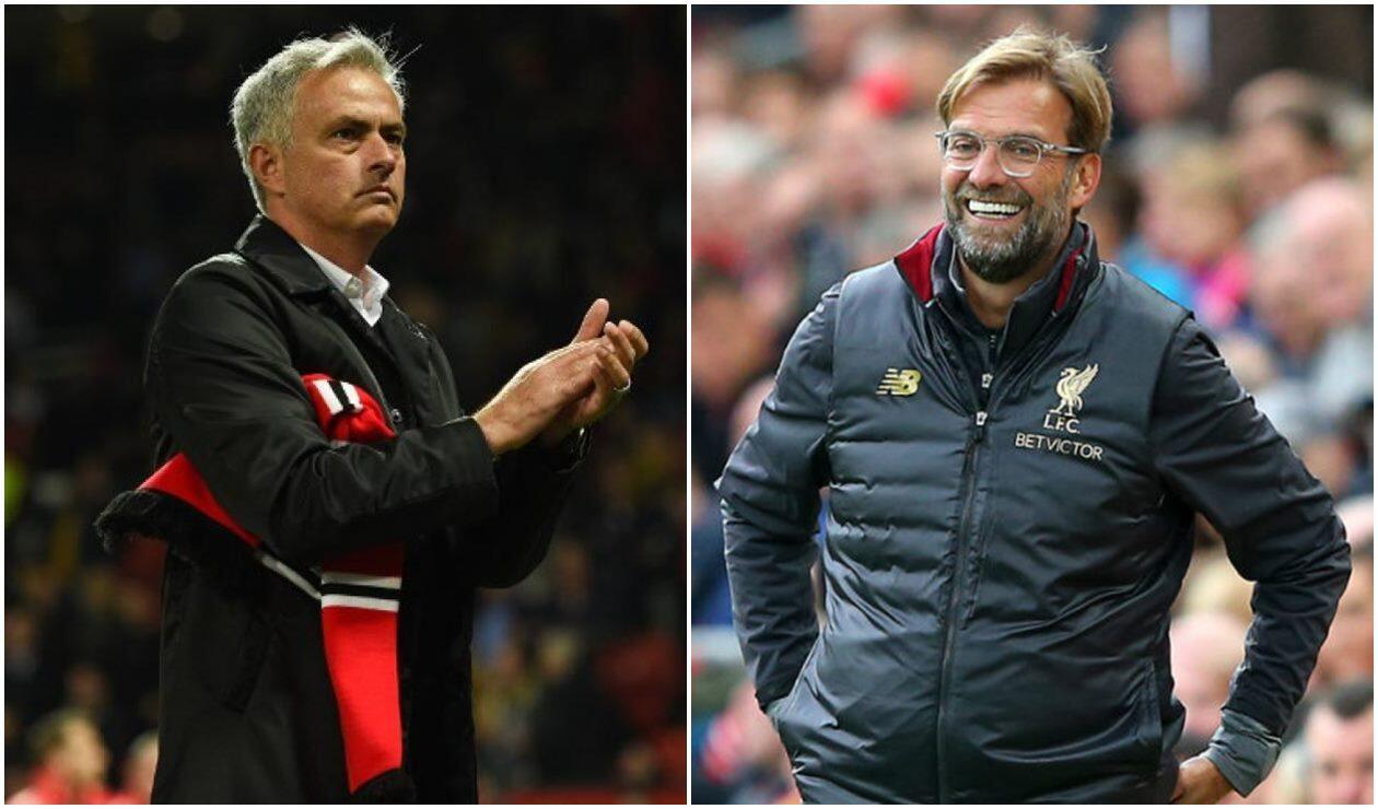 Jose Mourinho y Jurgen Klopp