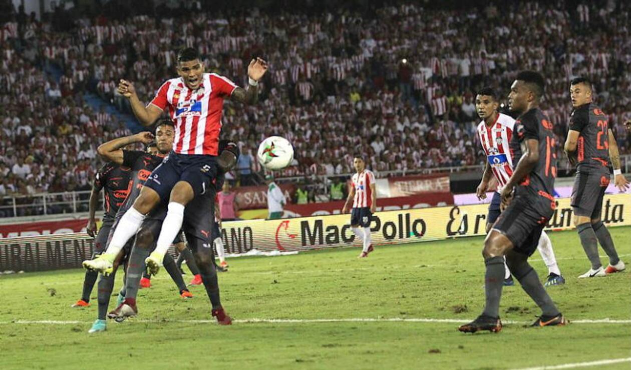 Junior le ganó a Medellín