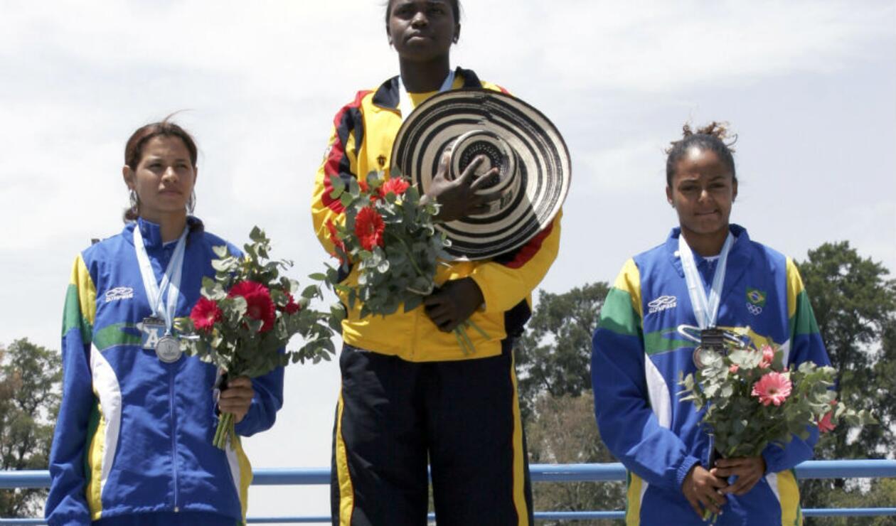 Caterine Ibargüen oro en el salto largo juegos Odesur