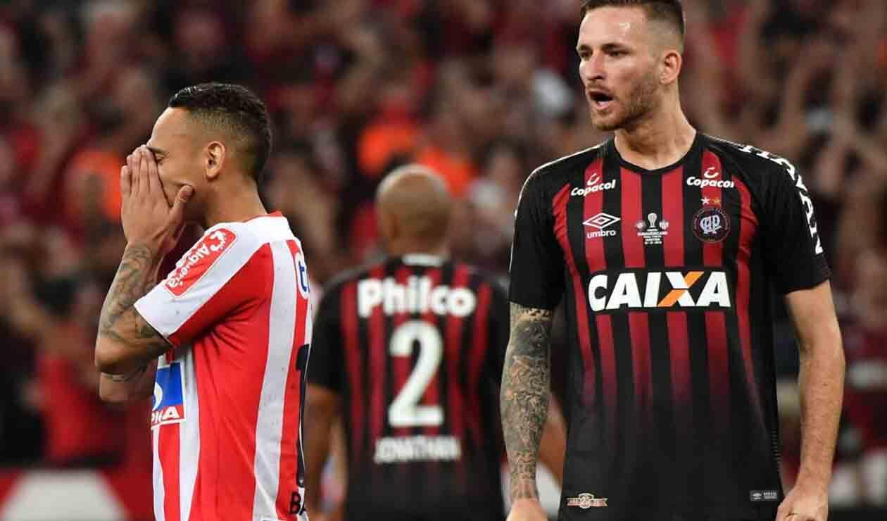 Junior de Barranquilla y Atlético Paranaense