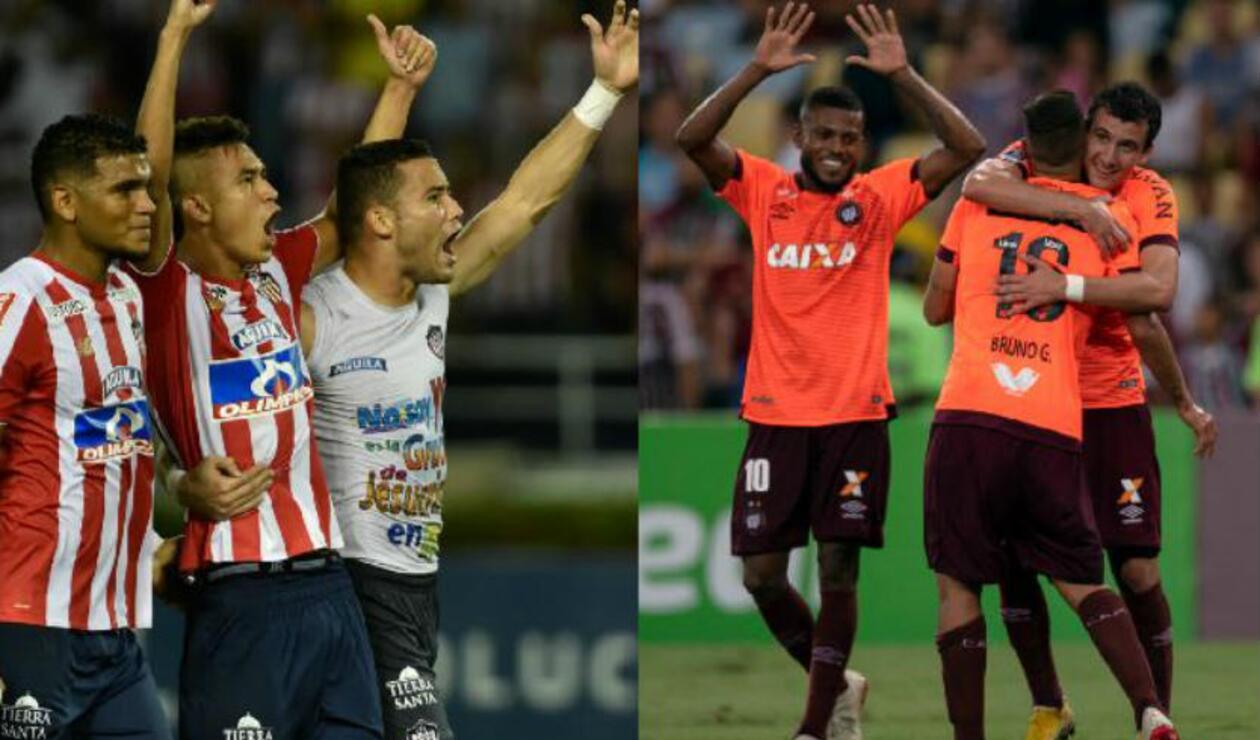 Junior y Atlético Paranaense