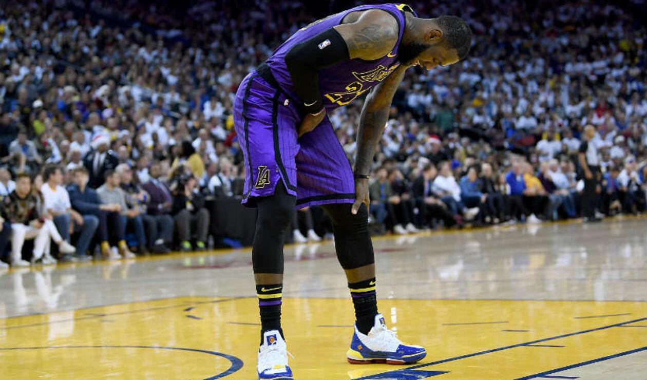 El alero estrella de Los Ángeles Lakers, LeBron James