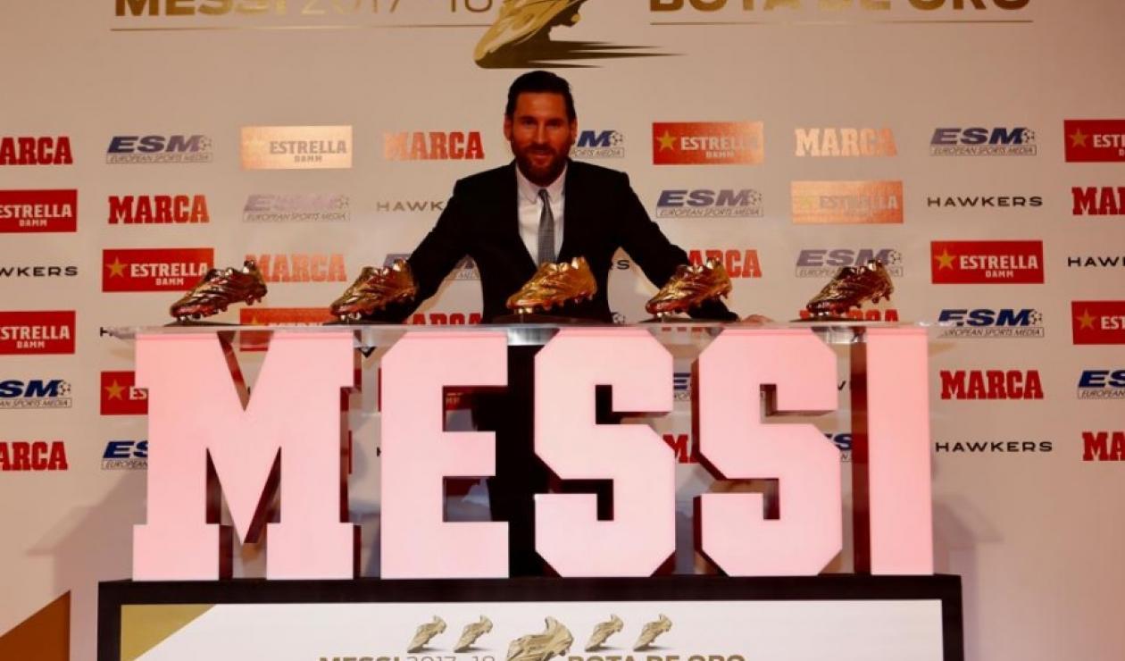 Lionel Messi- Bota de Oro