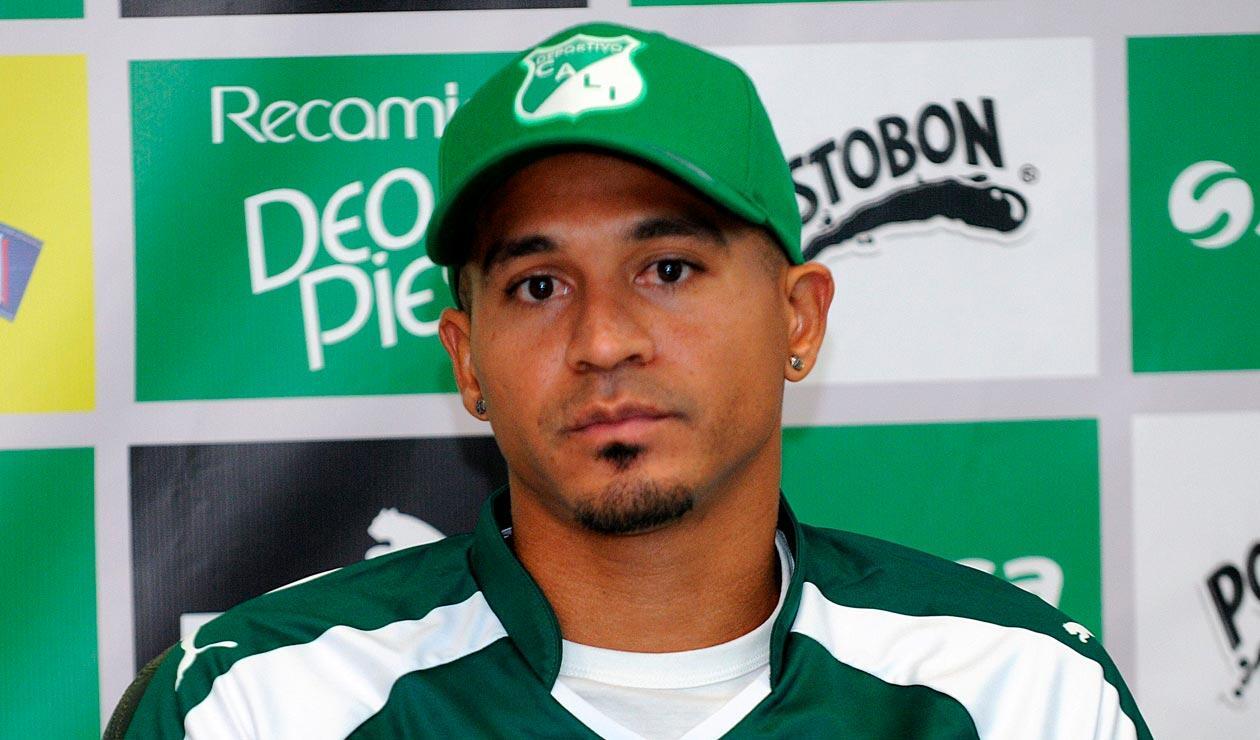 Macnelly Torres cuando fue presentado en el Deportivo Cali
