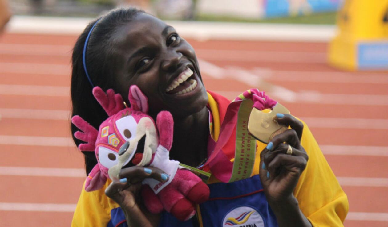 Caterine Ibargüen medella de oro juegos panamericanos triple salto
