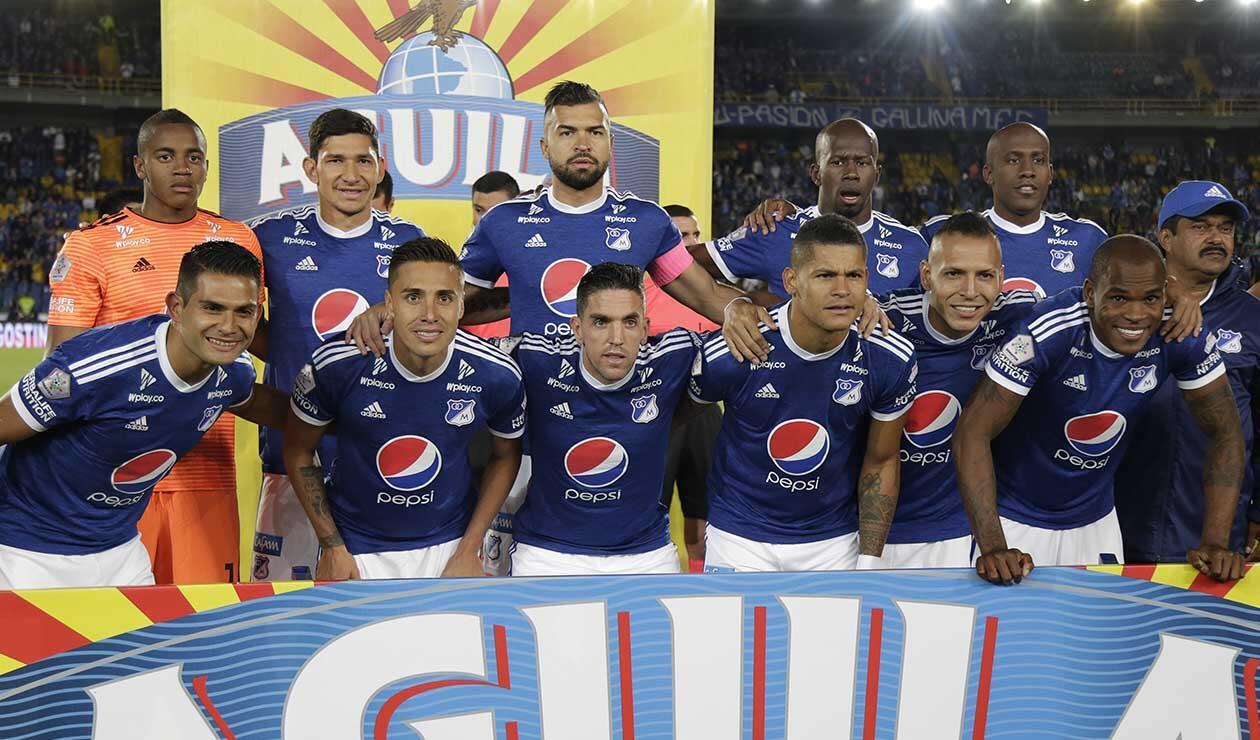 Millonarios, equipo formado 2018