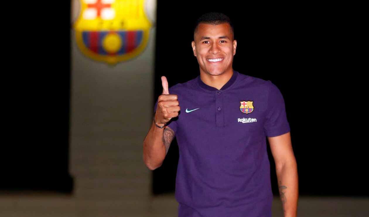 Jeison Murillo, defensor del Barcelona