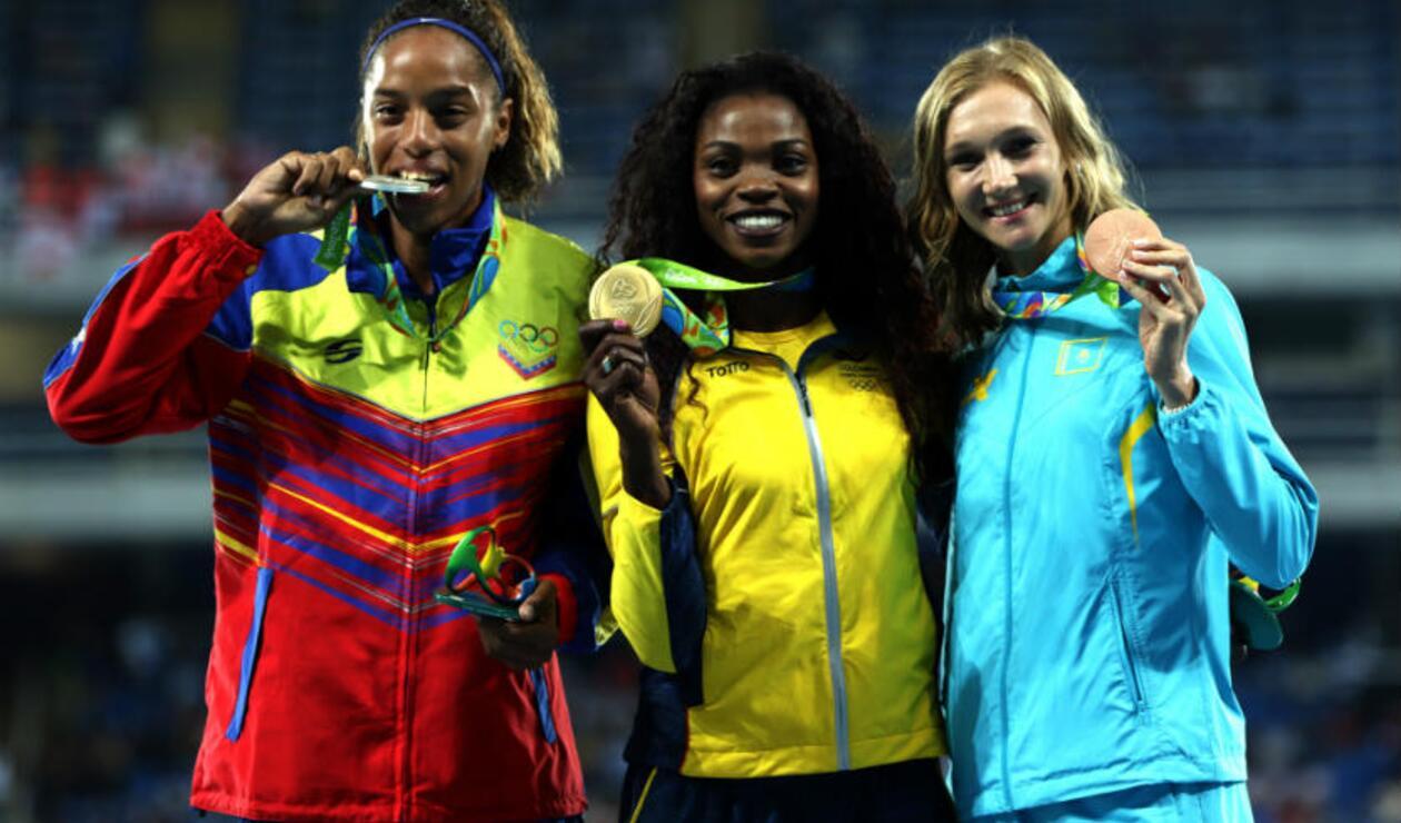 Caterine Ibargüen en Olímpicos de Río