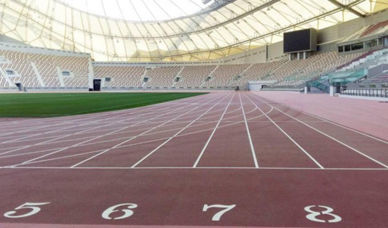 Pista de Atletismo en Doha