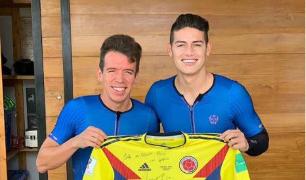 Rigoberto y James