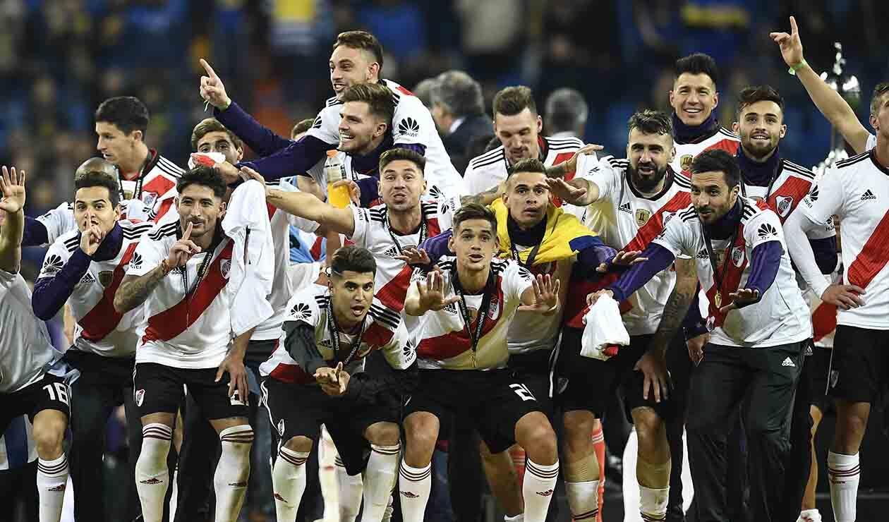River Plate se coronó campeón de América, tras derrotar a Boca Juniors