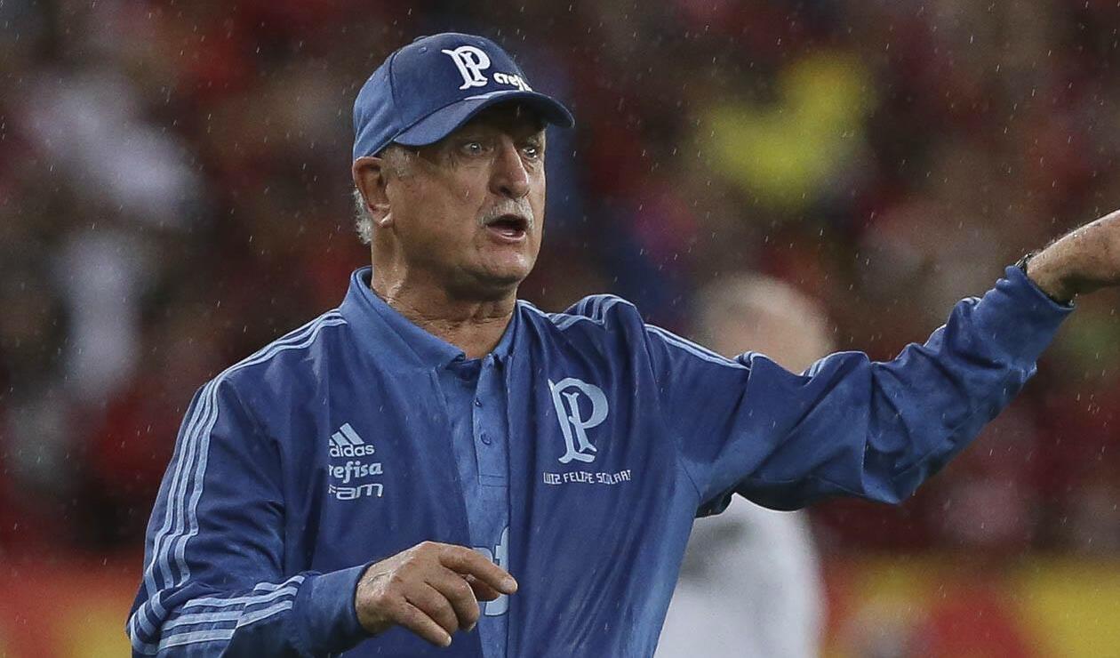 Luiz Felipe Scolari, técnico de Palmeiras