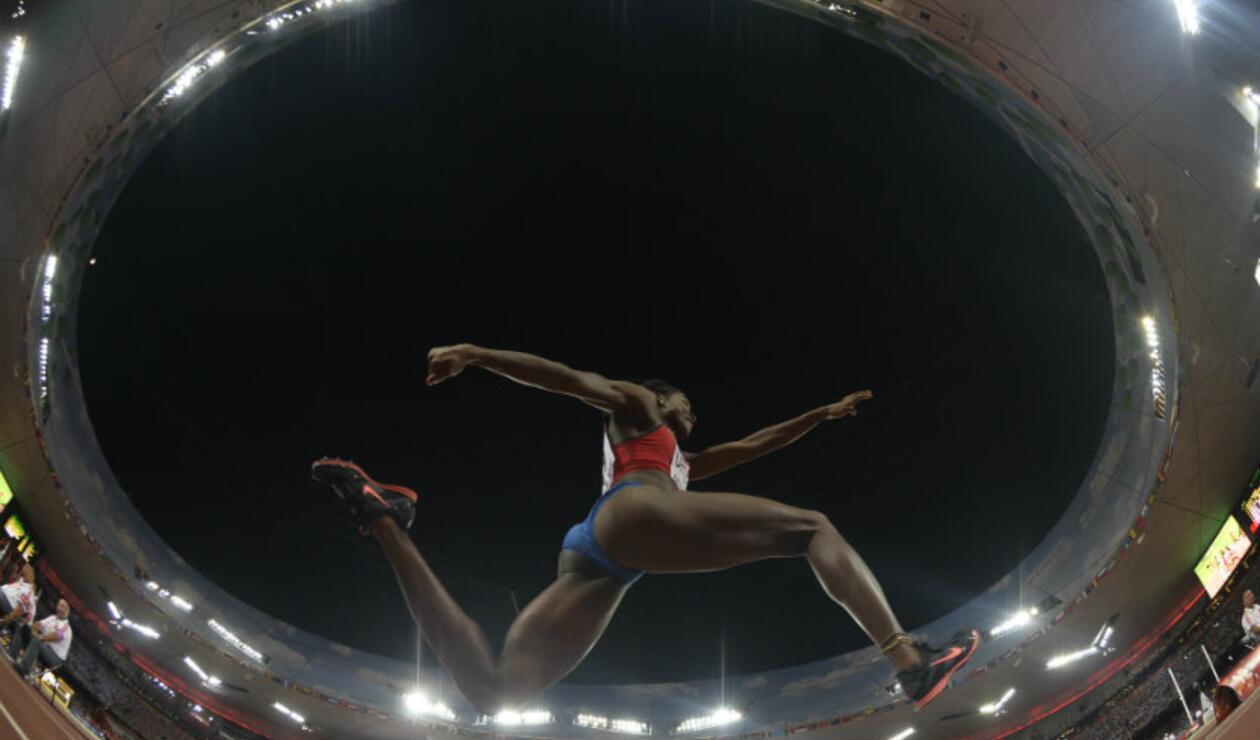 Caterine Ibargüen ganó el triple salto del Mundial de Beijing 2015