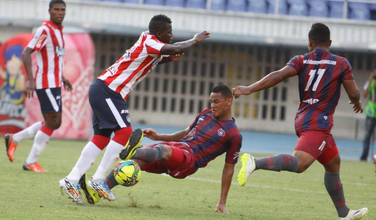 Junior vs Unión Magdalena, Copa Postobón 2014