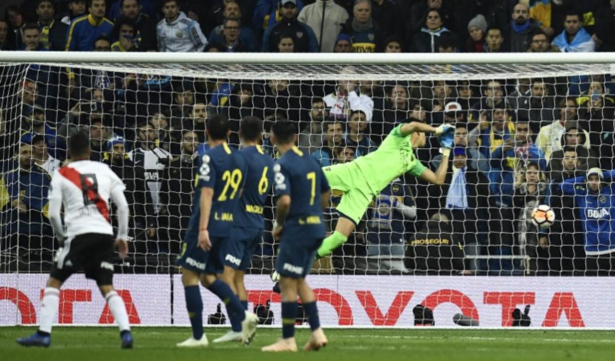 Juan Fernando Quintero, gol ante Boca