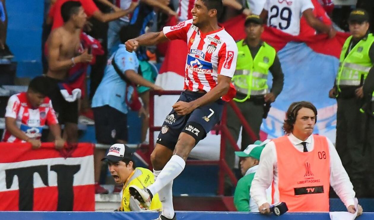 Luis Carlos Ruiz, delantero del Junior
