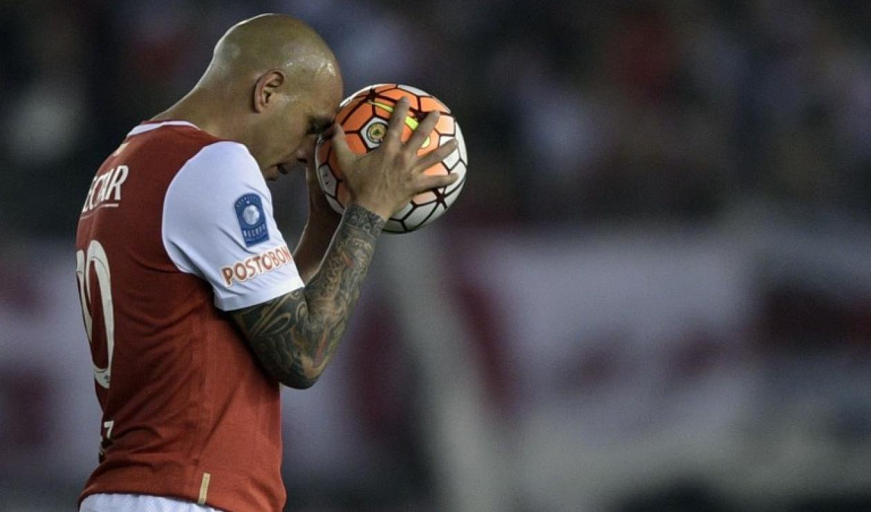 Omar Pérez, jugador de Independiente Santa Fe
