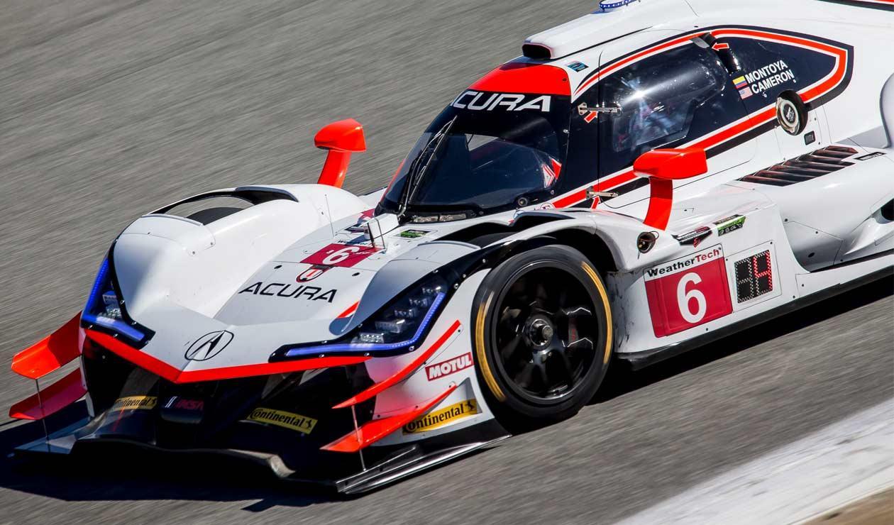 Juan Pablo Montoya durante la clasificación para las 24 Horas de Daytona