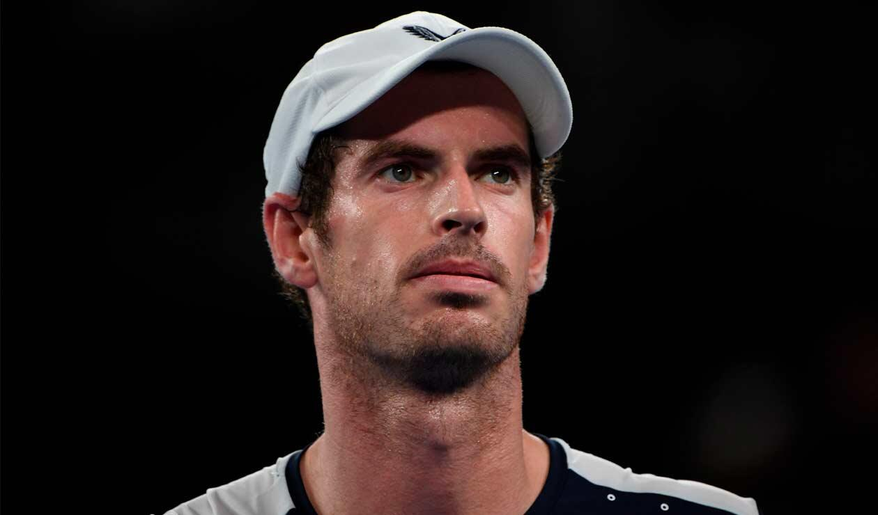 Andy Murray en su último partido como profesional, tras anunciar su retiro del tenis