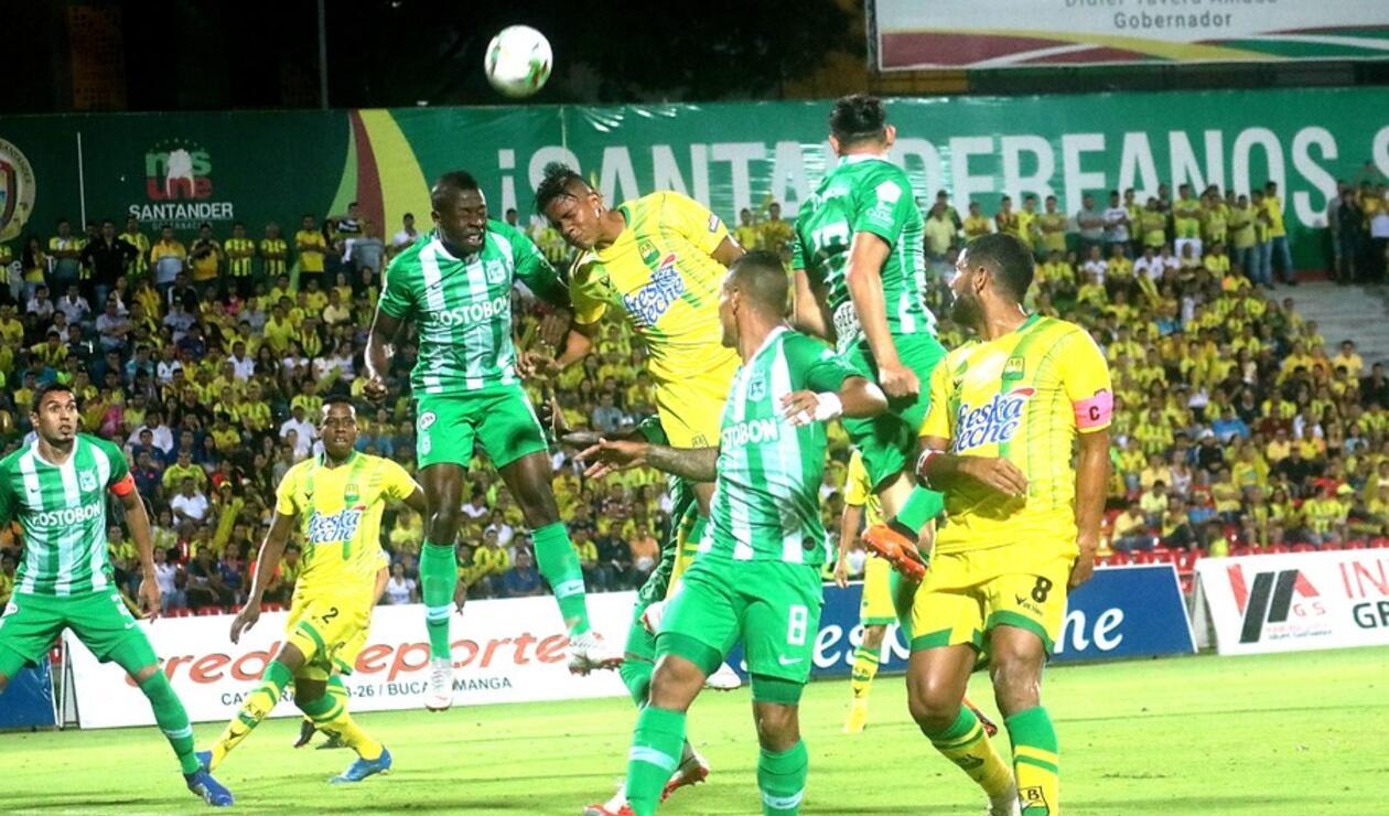 Bucaramanga vs Atlético Nacional - Liga Águila 2019 Fecha 2