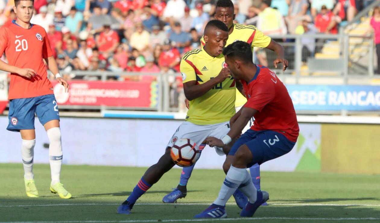 Chile Vs Colombia Sudamericano Sub 20
