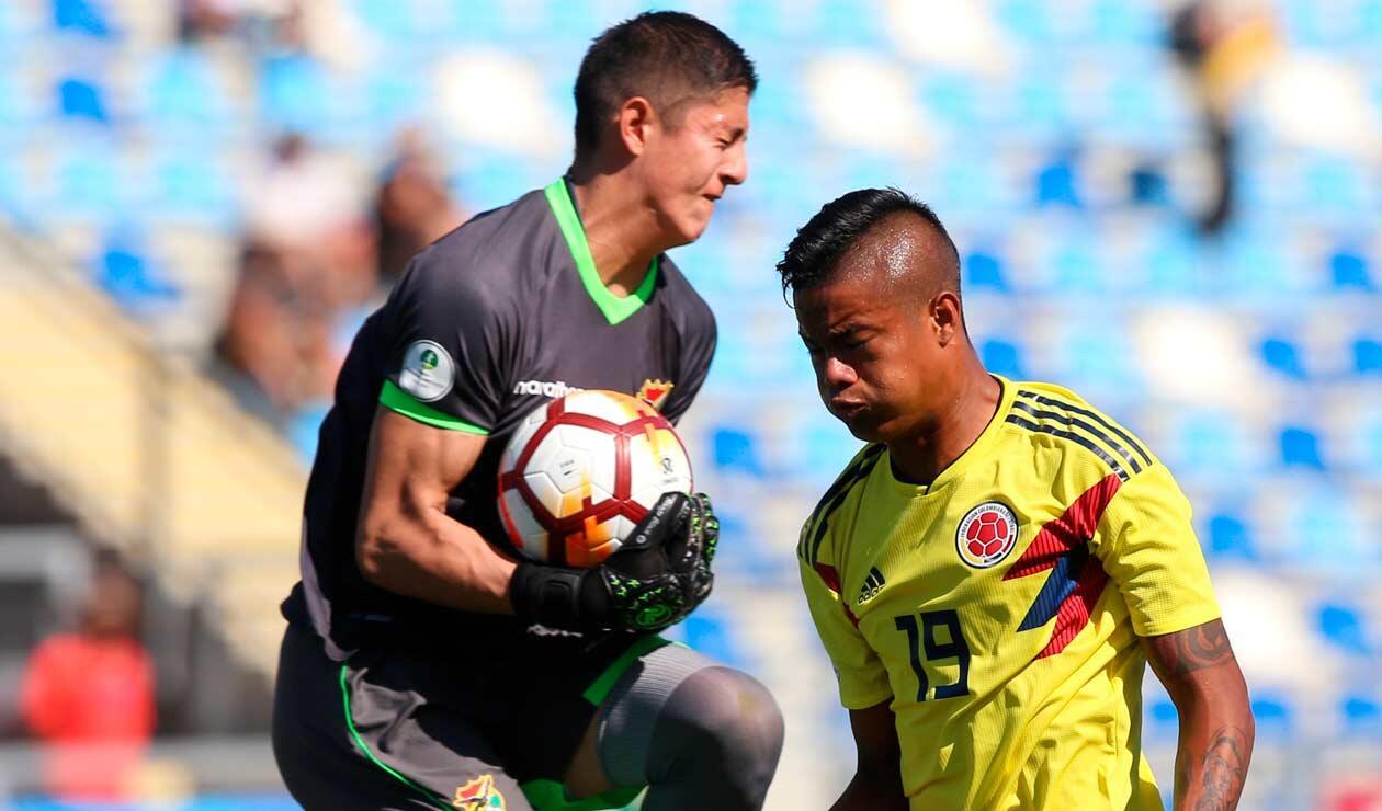Colombia también careció de buena definción ante Bolivia