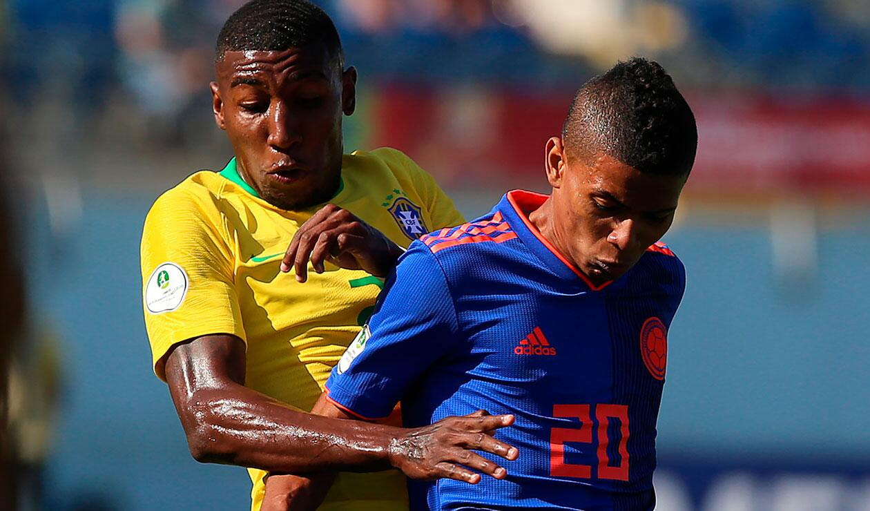 Colombia y Brasil se volvieron a ver las caras tras empatar 0-0 en la fase de grupos