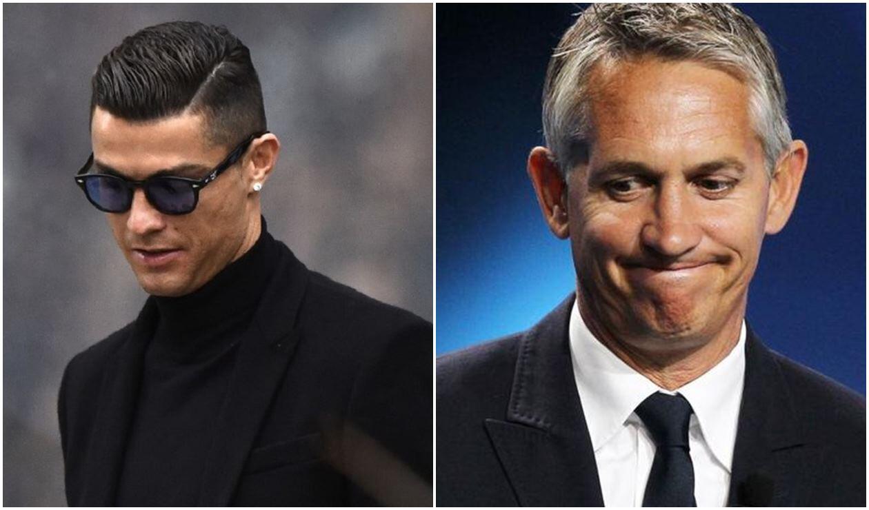 Cristiano Ronaldo y Gary Lineker