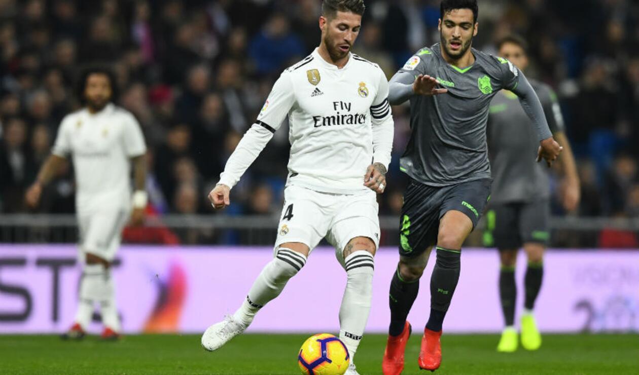 Real Madrid Vs. Real Sociedad
