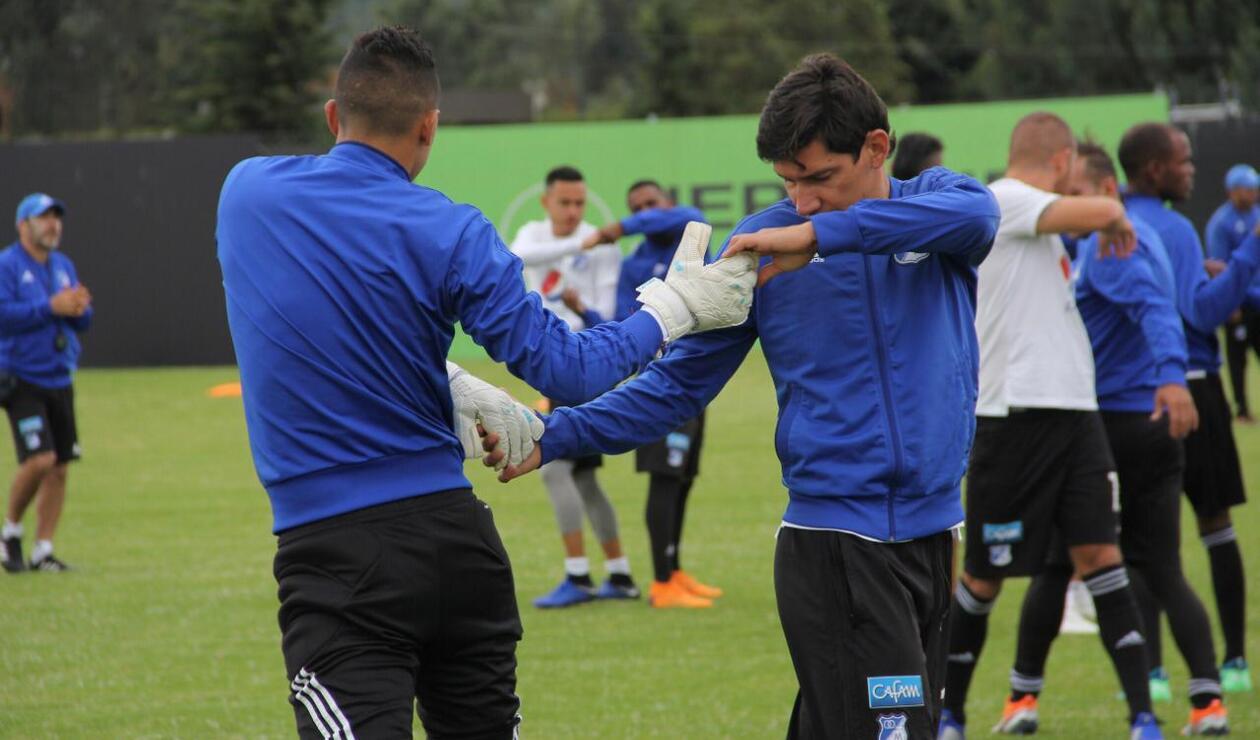 Millonarios 2019, en su primer entrenamiento