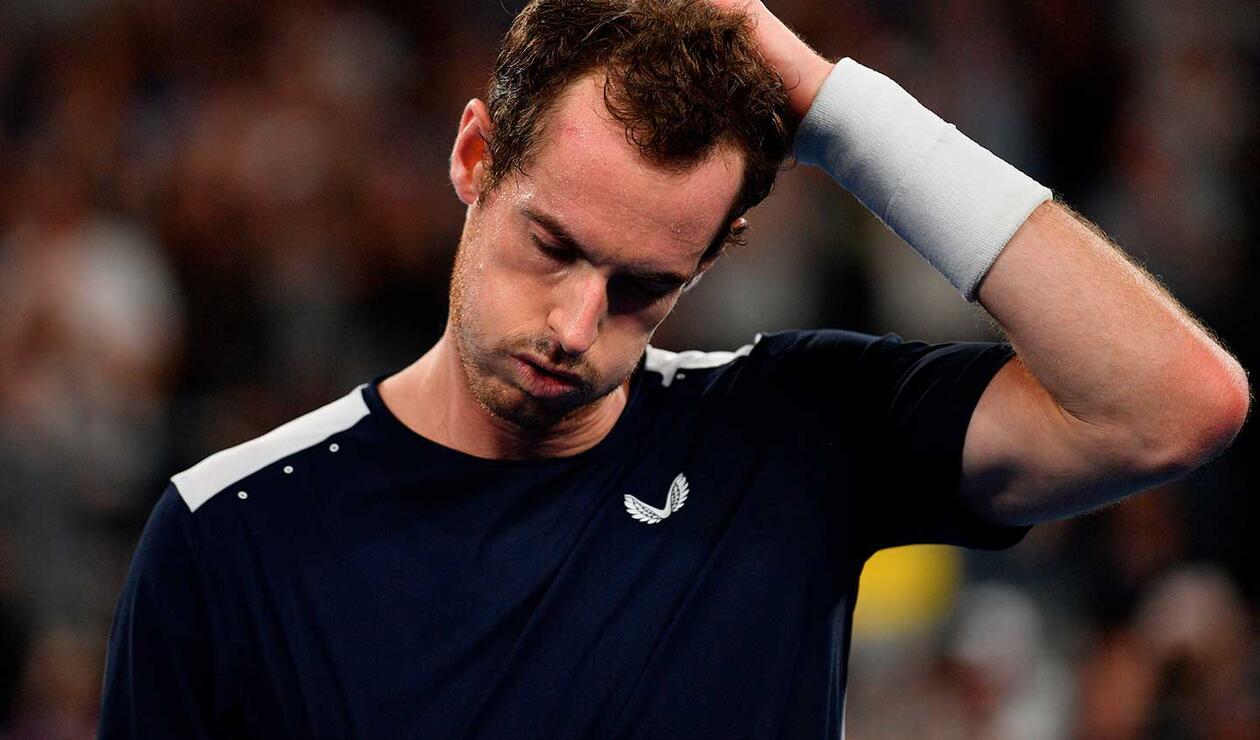 Andy Murray cayó ante Roberto Bautista en el Abierto de Australia