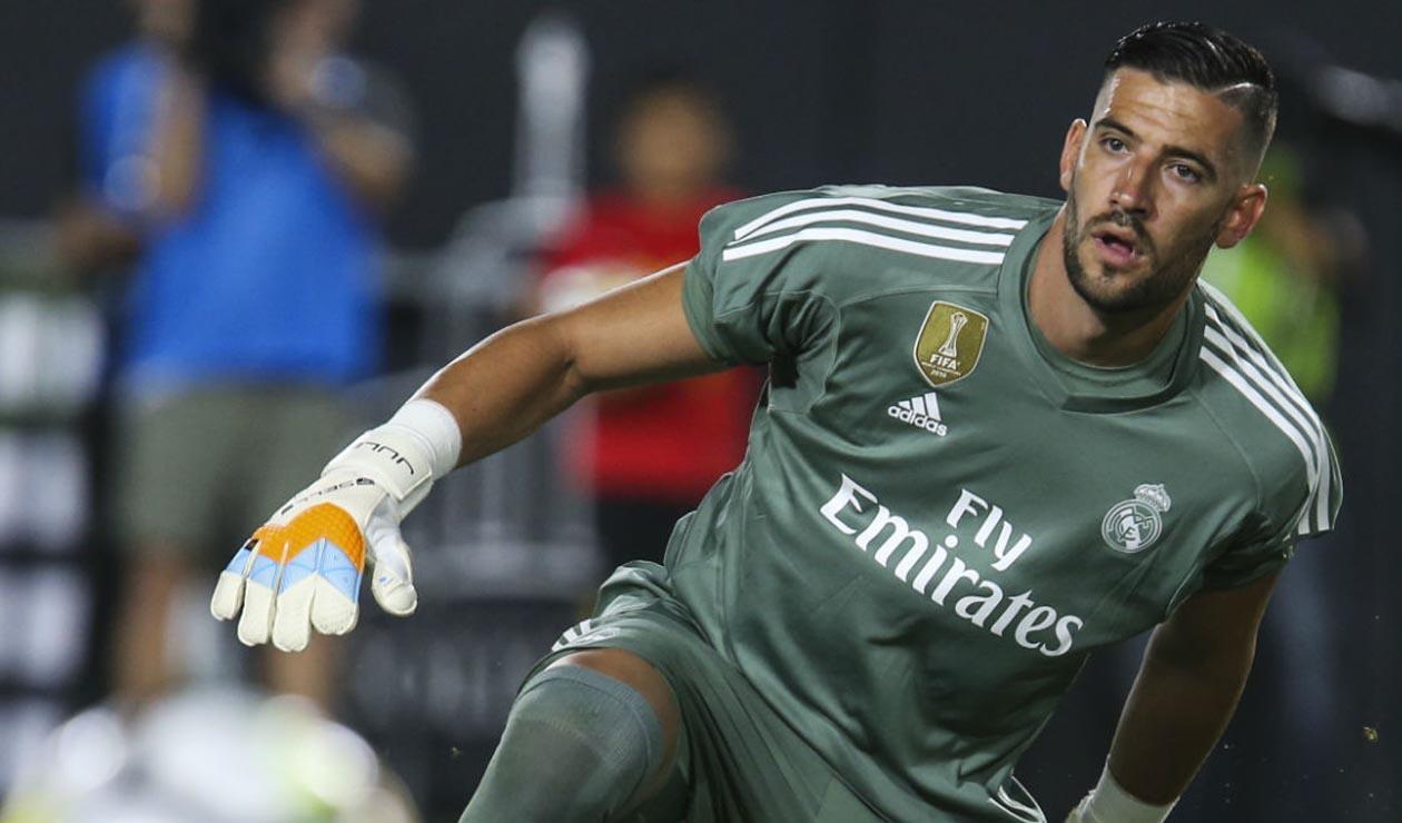Kiko Casilla, arquero del Real Madrid